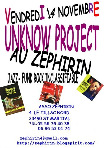 AFFICHE UNKNOW PROJECT 2014 .jpg